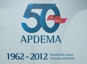 Logo 50º aniversario Apdema