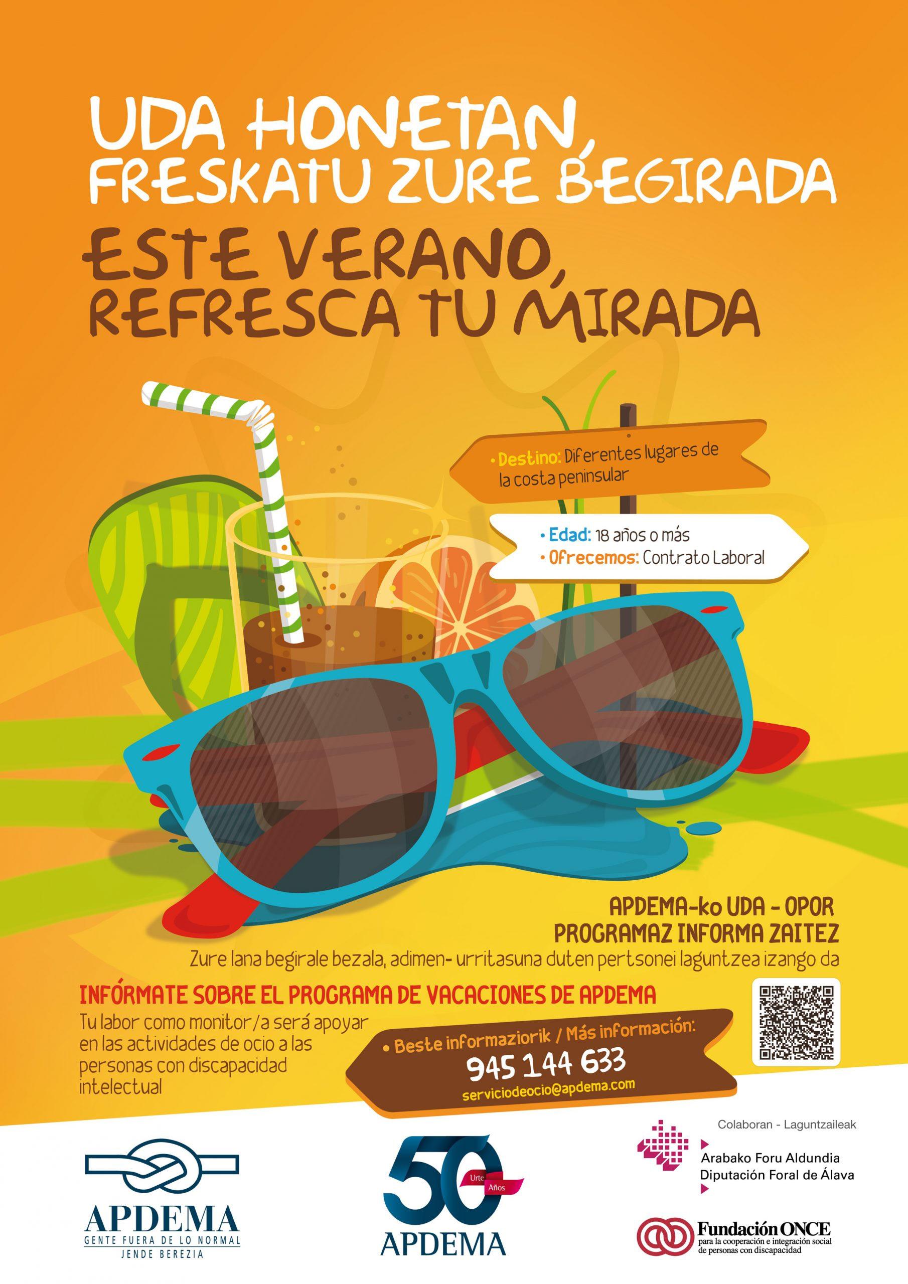 Necesitamos Monitores Para El Programa Vacaciones Verano 2012 Apdema