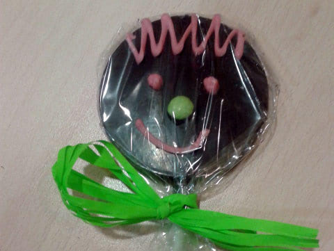 Piruleta Chocolatería Mendaro