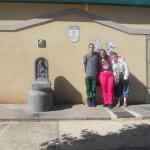 Voluntarios Apdema de hospitaleros en Nájera