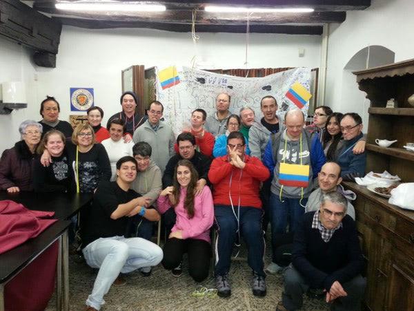 FIESTÓN COLOMBIANO EN EL CENTRO DE LLODIO