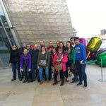 Apdema; Gazte Alaiak de Llodio visitan el Guggenheim
