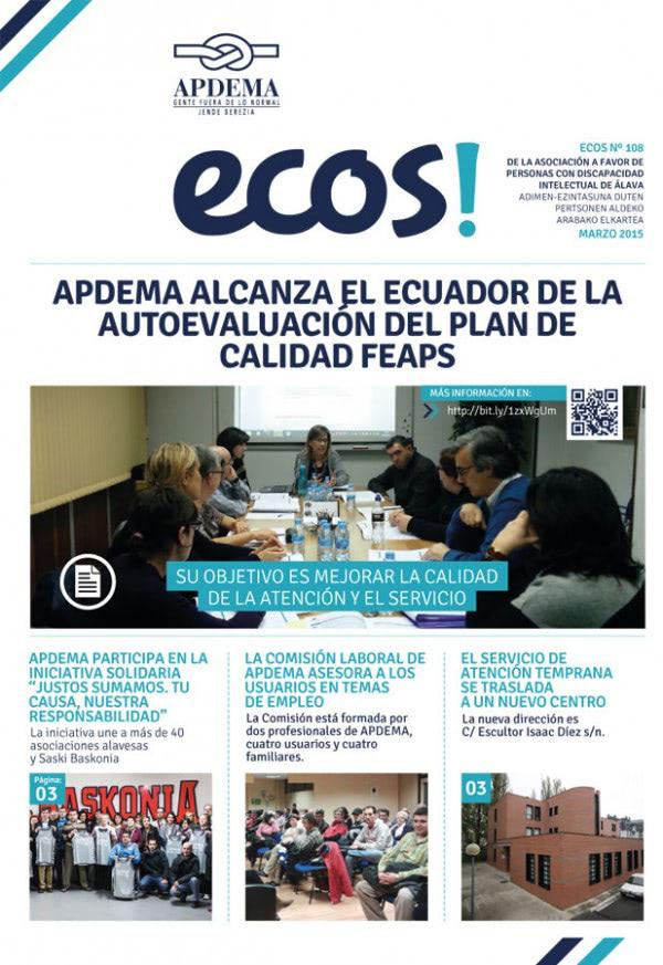 Apdema; Revista Ecos nº 108