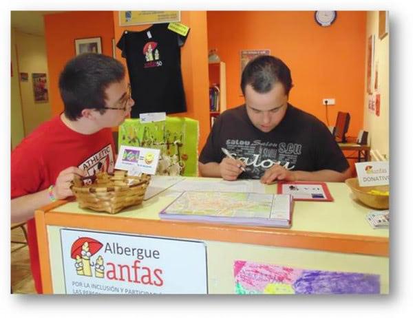 Adpema; Hospitaleros en el Albergue de Estella