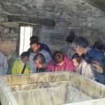 Apdema; Gaste Alaiak visita el molino de Añes