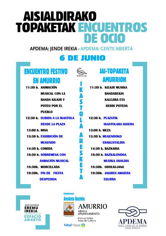 Apdema; Cartel Fiesta de Amurrio 2015