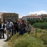 Apdema; visita al nuevo albergue de Grañön. Camino de Santiago