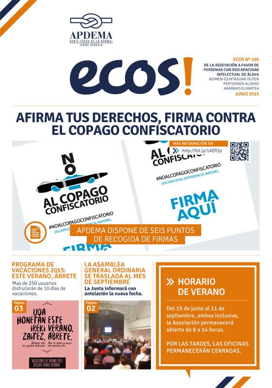 Apdema; Revista Ecos-nº-109