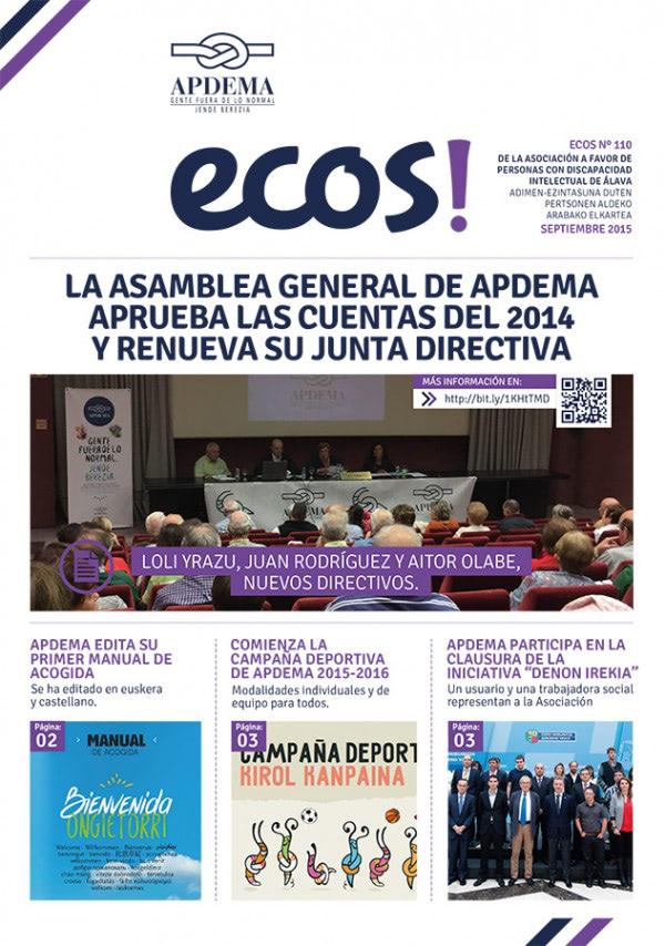 Apdema; Revista ECOS 110