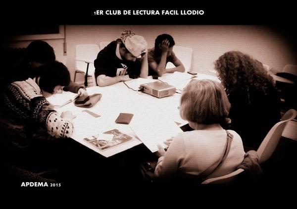 Apdema; Club Lectura Fácil en Llodio