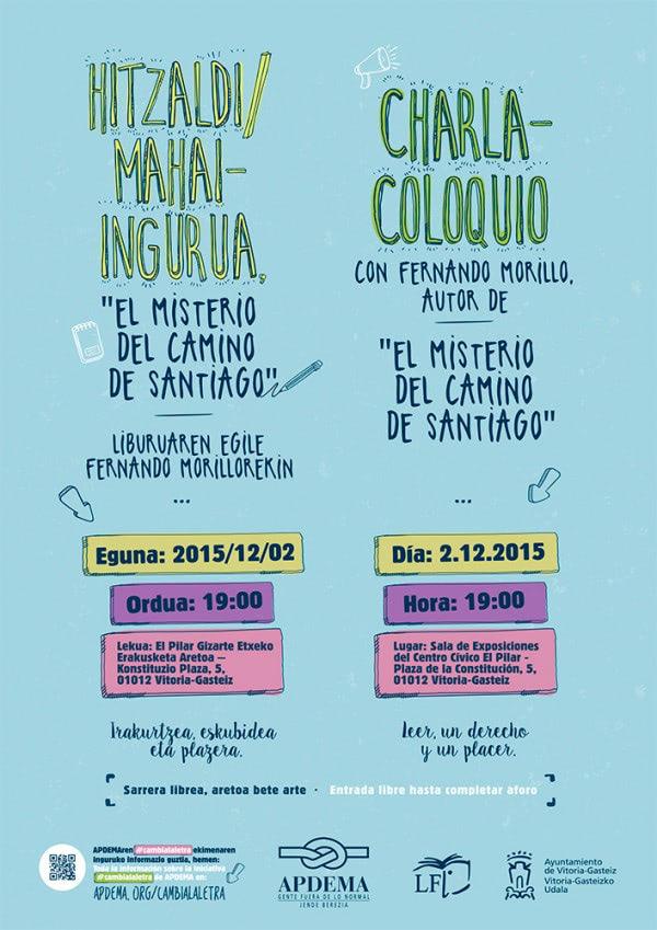 Apdema; CHARLA-COLOQUIO CON FERNANDO MORILLO Y SU OBRA EN LECTURA FÁCIL