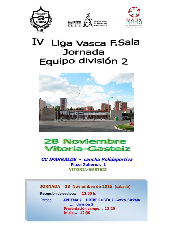 Apdema; IV Liga Vasca de Fútbol Sala