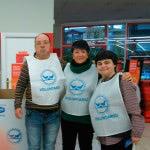 Apdema; Voluntarios en el Banco de Alimentos