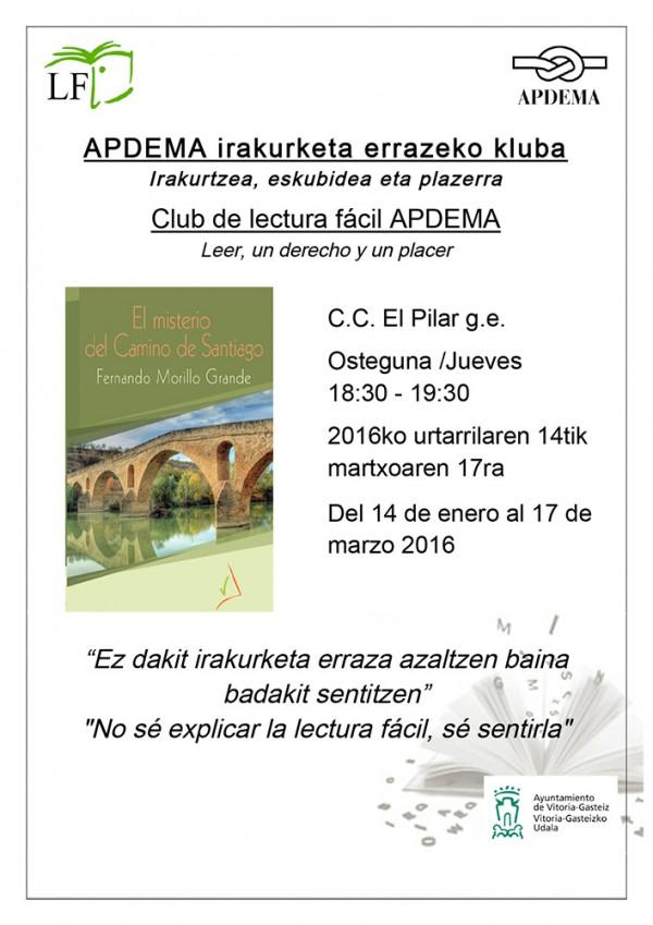 Apdema; Club de Lectura Fácil en El Pilar