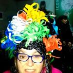 Apdema; Gazte Alaiak visita la exposición de trajes de carnaval
