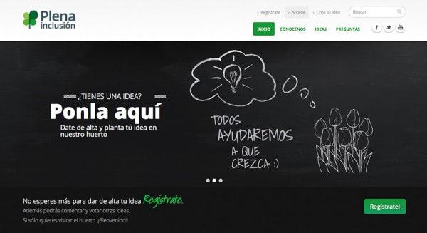 Apdema; Huerto de Ideas de Plena Inclusión-FEAPS