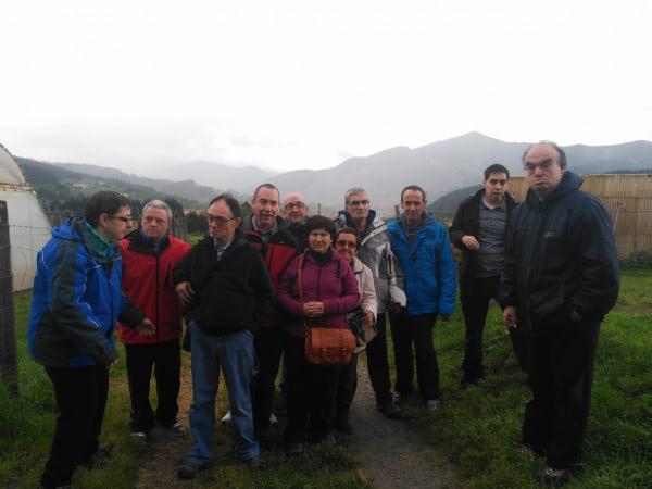 Apdema; el centro de ocio de Llodio visita un baserri en Orozco