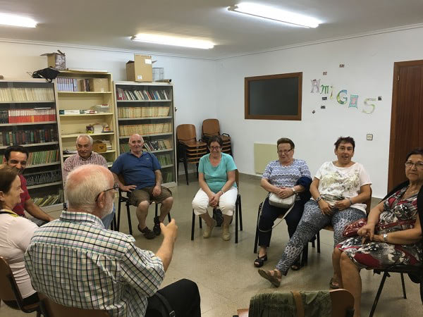 Apdema; reuniones informativas con familias del entorno rural