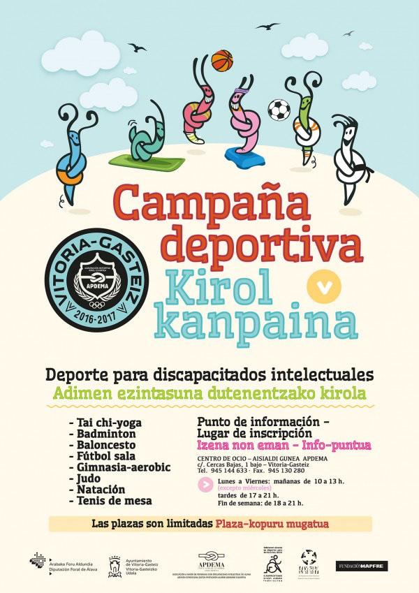 Apdema; Campaña Deportiva 2016-2017