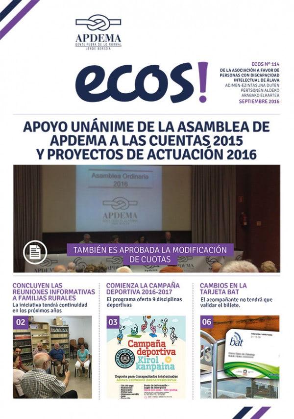 Apdema; Ecos 114