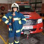 Apdema; Visita a los bomberos de Llodio por Josean Mendibil