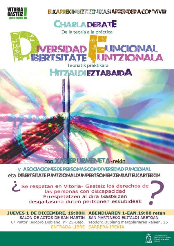 Apdema; Charla-Debate sobre Diversidad Funicional