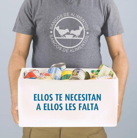 Apdema; 12 usuarios en la recogida del Banco de Alimentos