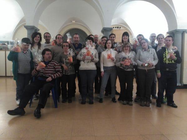 Apdema; Los centros de ocio de Apdema en la jornada solidaria por los refugiados en Orduña
