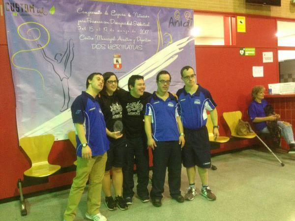 Apdema; Campeonato Nacional de natación para personas con discapacidad intelectual