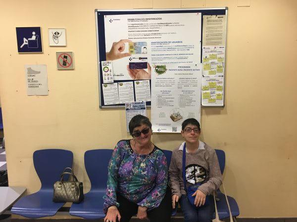 Apdema; Charla en el Centro de Salud de Oion