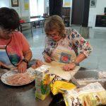 Taller de cocina en el centro de ocio de Apdema en Llodio