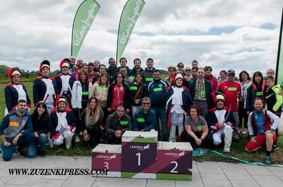 Voluntarios en la quinta edición de la Carrera de la Batalla.