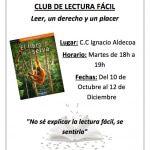 Inicio de curso de los clubs de lectura fácil