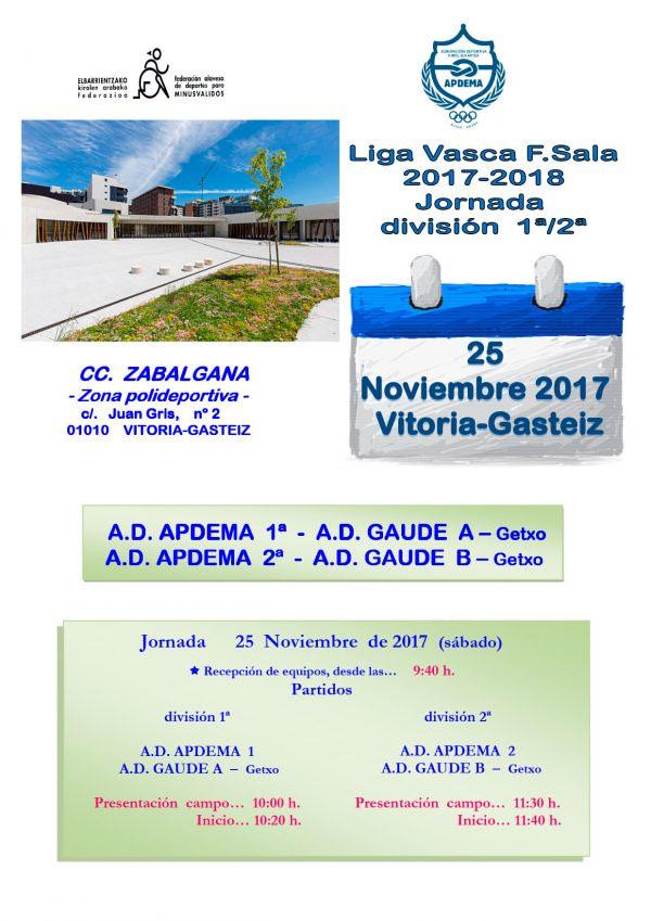 VI-LIGA-VASCA 3ª Jornada