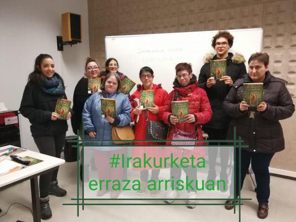 Fin de curso del Club de Lectura Fácil Ignacio Aldecoa 2017