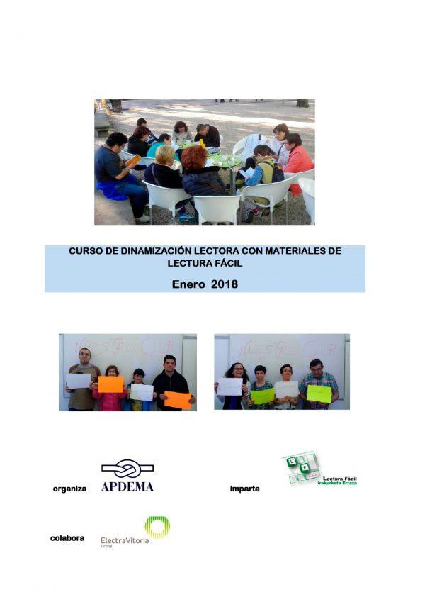 Tercer curso de dinamización de Clubs de Lectura Fácil