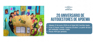 20 años de Autogestores en Apdema
